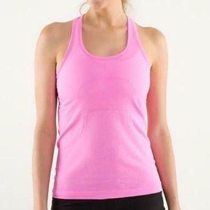 Lululemon Swiftly Racerback Tank Blush Pink